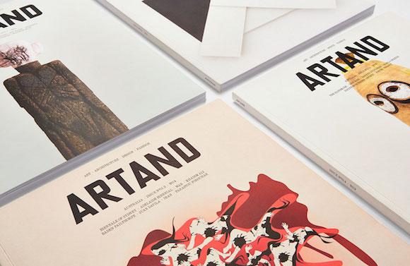 Fabio Ongarato Design Artand Magazine rebrand