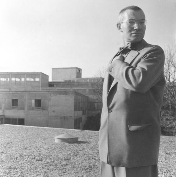 Max Bill, 1954 Photograph by Sisi von Hahn