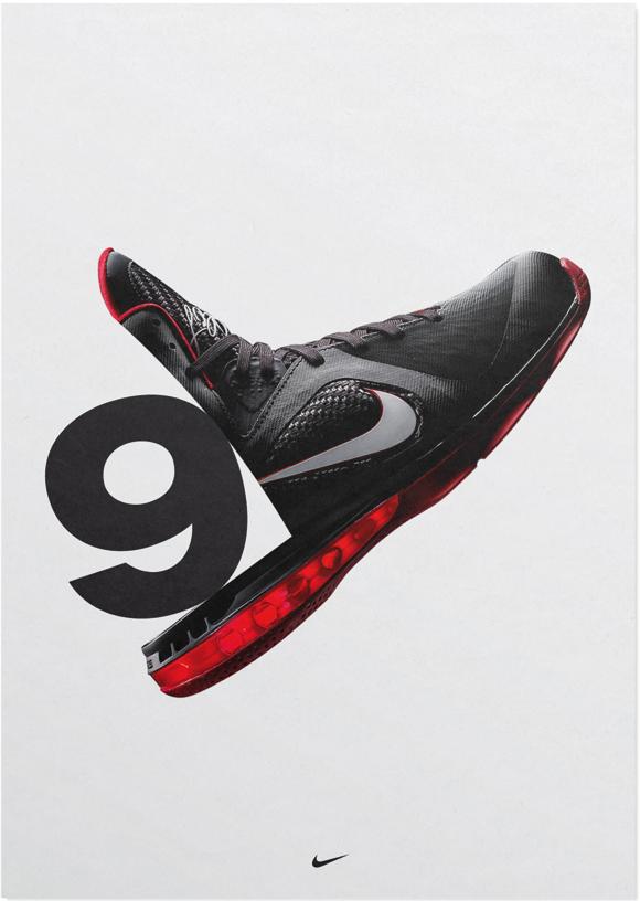 Hort LeBron 9, 2011 Nike Basketball