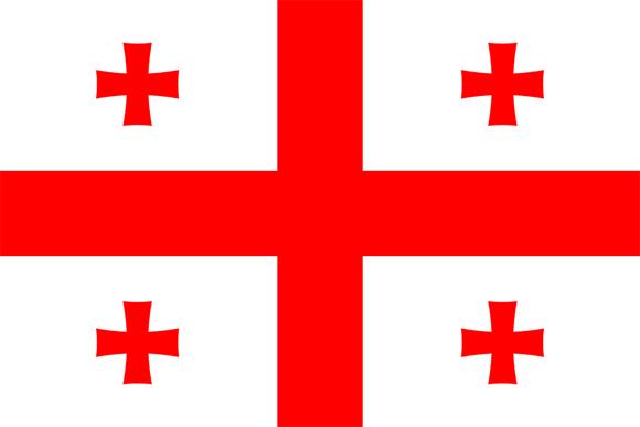 Georgia: Present Flag