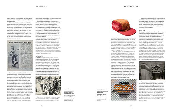 Chapter One sample text page