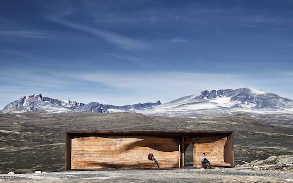 Reindeer Pavilion by Snøhetta.