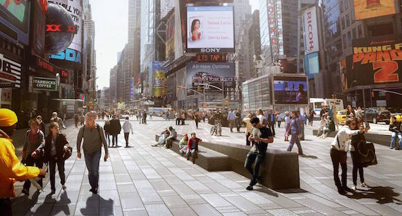 Times Square reconstruction by Snøhetta