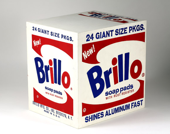 Brillo Soap Pads Box 1964