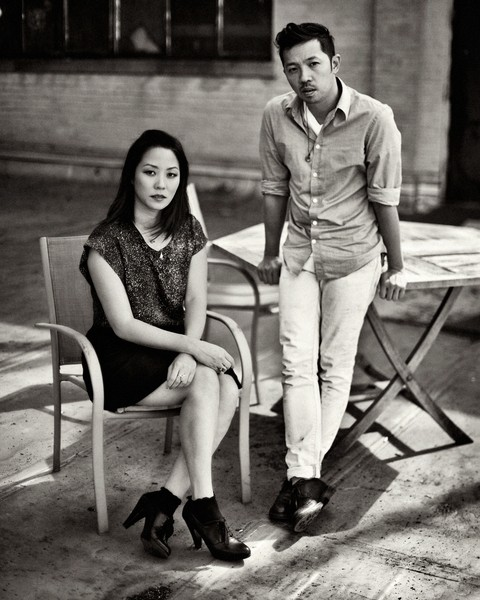 Carol Lim and Humberto Leon. Photo: Sebastian Kim