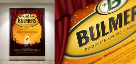 Bulmers Sponsorship Poster