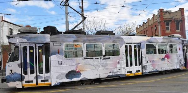 Tram 182 - 'Going Somewhere' by Freya Pitt