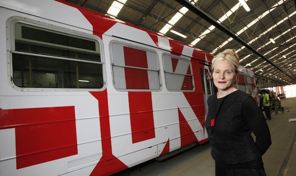 Tram 151 by Rose Nolan