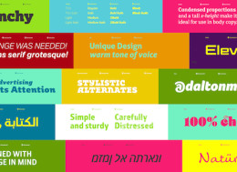 London type foundry introduce free and fully functional font
