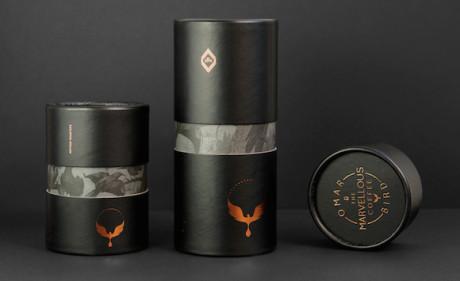 Creative Order's luxe packaging for Coffee Bird Single Origin | Desktop