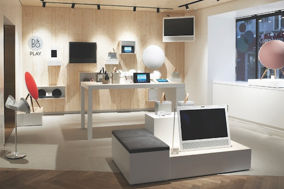 Bang and Olufsen Copenhagen global retail concept 2