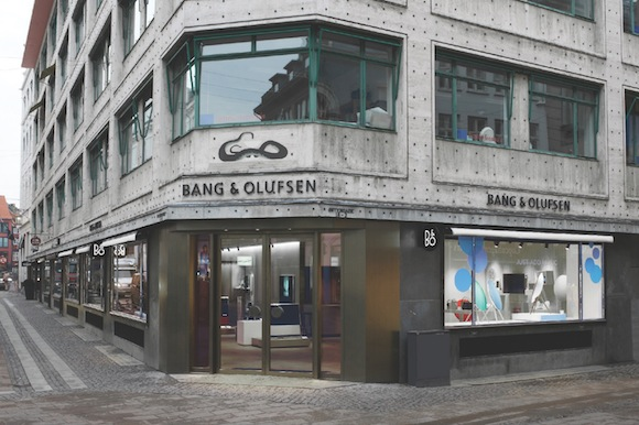 Bang and Olufsen Copenhagen global retail concept 6